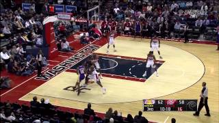 12 14 2012   Lakers vs  Wizards   Team Highlights