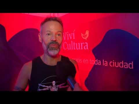 ESPECTACULAR NOCHE DE MUSICA Y POESIA CON GABO FERRO