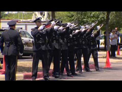 The sights and sounds of SAPD Officer Miguel Moreno's funeral