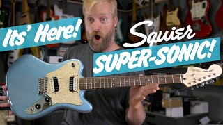 Squier Super-Sonic Unboxing & First Impressions - Lot's of tuning, interesting pickups & MORE!