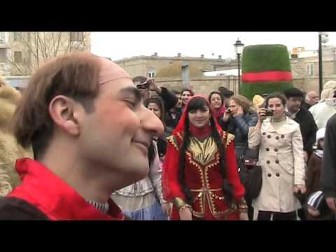 Novruz in Maiden Tower, Baku Azerbaijan