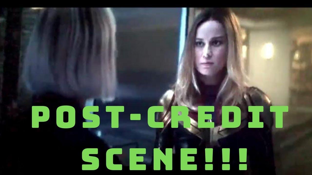 Captain marvel post credit online