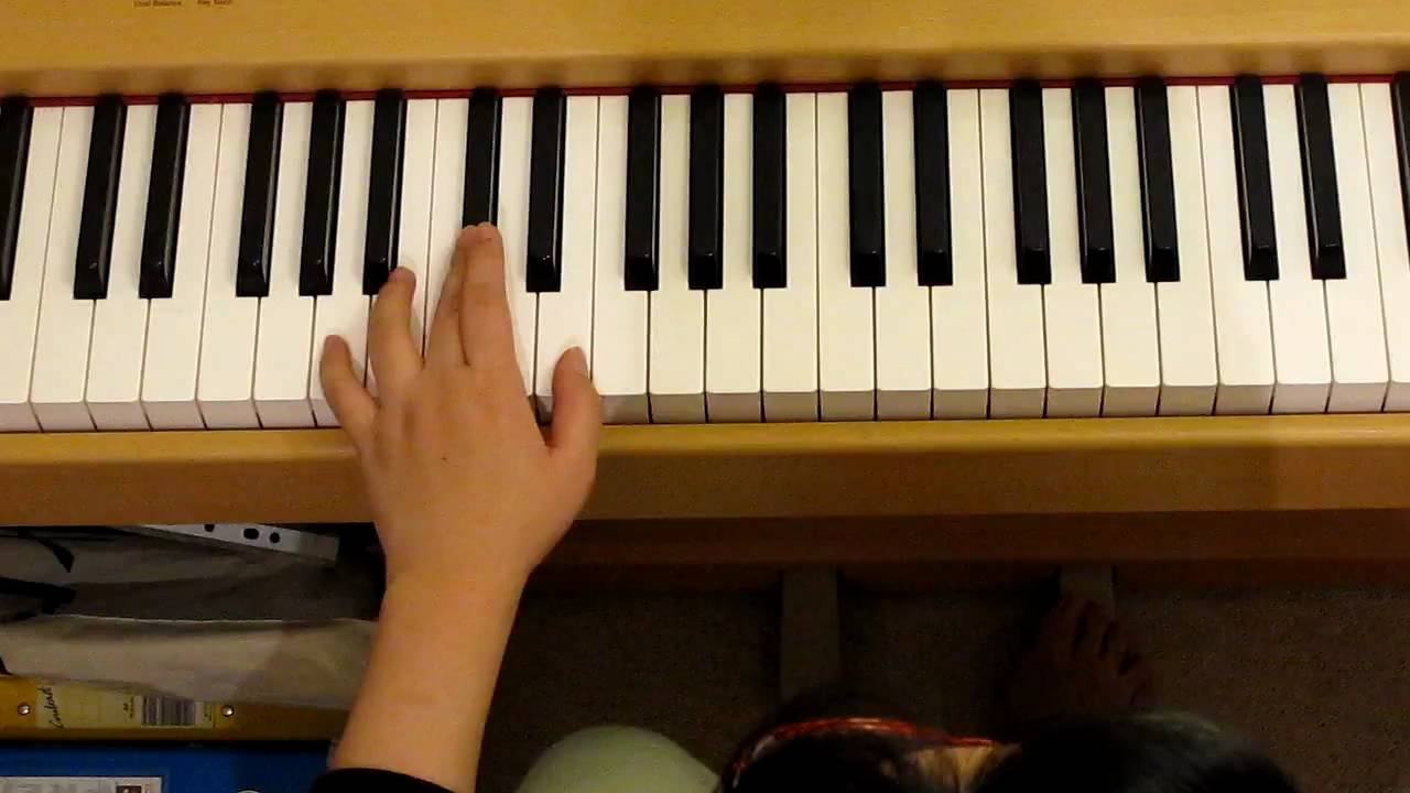 Piano lesson for christian in christ alone youtube piano lesson for christian in christ alone hexwebz Images