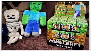 MINECRAFT MINI FIGURE BOX OPENING