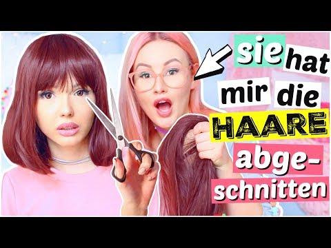 BFF schneidet mir die Haare ab 😱 | ViktoriaSarina