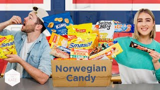 British People trying Norwegian Candy - This With Them
