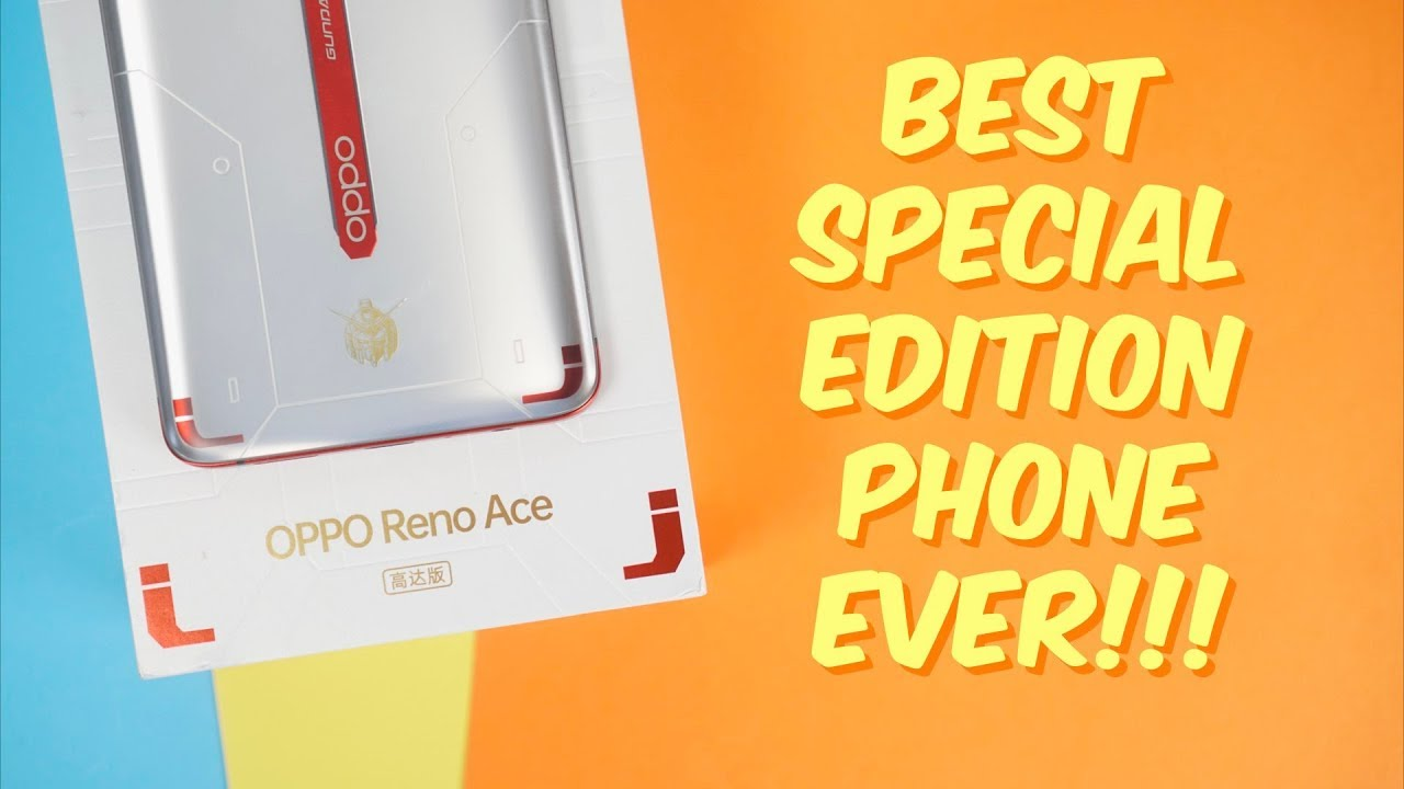 10 Oppo Reno Ace Gundam Price Ph Illustration