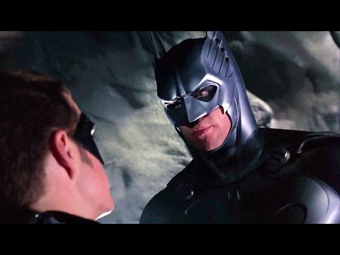 Batman and Robin are sent to rescue Dr. Meridian | Batman Forever