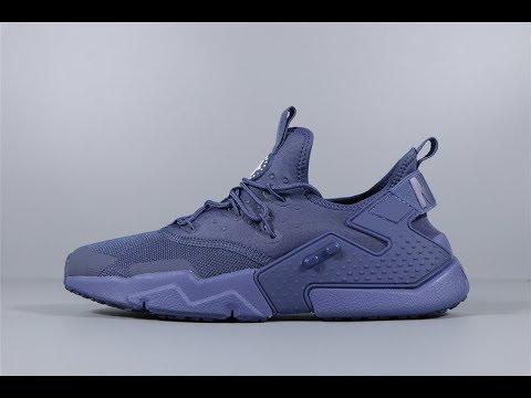 d0e3417af8376 Nike Mens Air Huarache Drift Sneakers Diffused Blue White AH7334-400 FROM  Robert