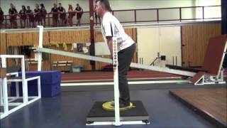 Demonstration of Isometric Mid-Thigh Pull - Australian Institute of Sport and Port Adelaide FC