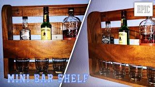My Next Project: Mini Bar Shelf (2015 Pallet Challenge)