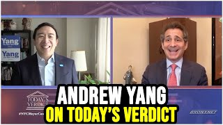 Andrew Yang's Full Interview on Today's Verdict w/ David Lesch | Feb 19th 2021