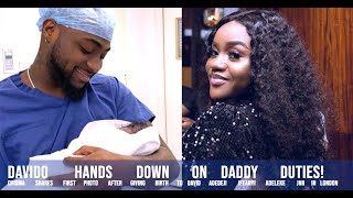Davido & Chioma Welcomes Son & Chioma Shares First Photo After GivingBirth