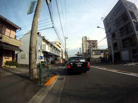Driving motorcycle in Tokyo