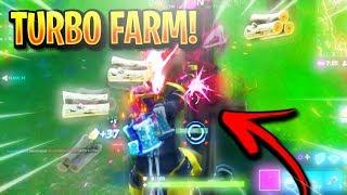 "*NEW* FORTNITE ""TURBO FARM GLITCH"" - NEW FAST FARMING GLITCH! How To ""FARM FASTER"" in Fortnite Tips!"