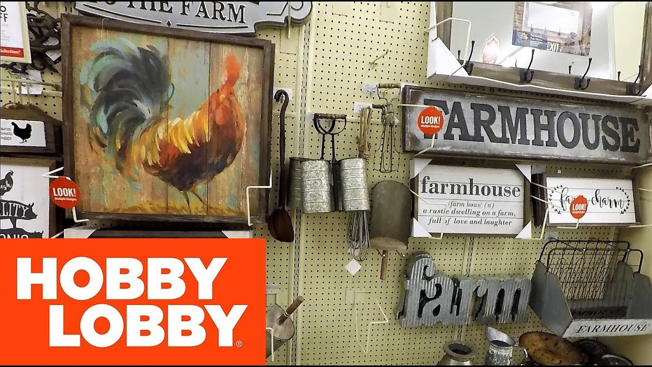 Hobby Lobby Farmhouse Decor Farm House Home Decor Decorations Shopping