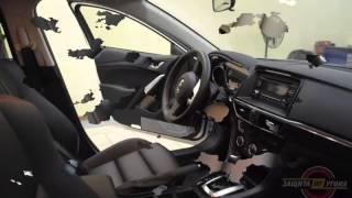 Перетяжка салона эко кожей на Mazda 6(Мы сделали совершенно новый салон в Мазда 6! Хотите нечто подобное сделать у себя? Записывайтесь и приезжайт..., 2014-02-28T12:24:14.000Z)
