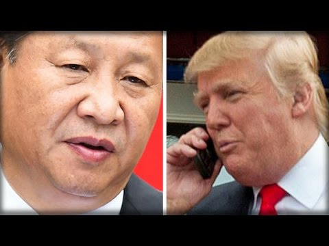 CHINESE PRESIDENT ISSUES WARNING TO PRESIDENT-ELECT TRUMP