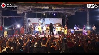 Usiku wa kuukaribisha mwaka mpya mastaa wawili kwenye muziki wa Rap...