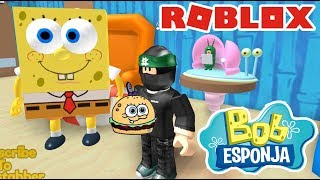 SpongeBob Game in Roblox ESCAPE THE CRARUDO CRUSTOCEOUS ? Roblox Obby Chapter 1