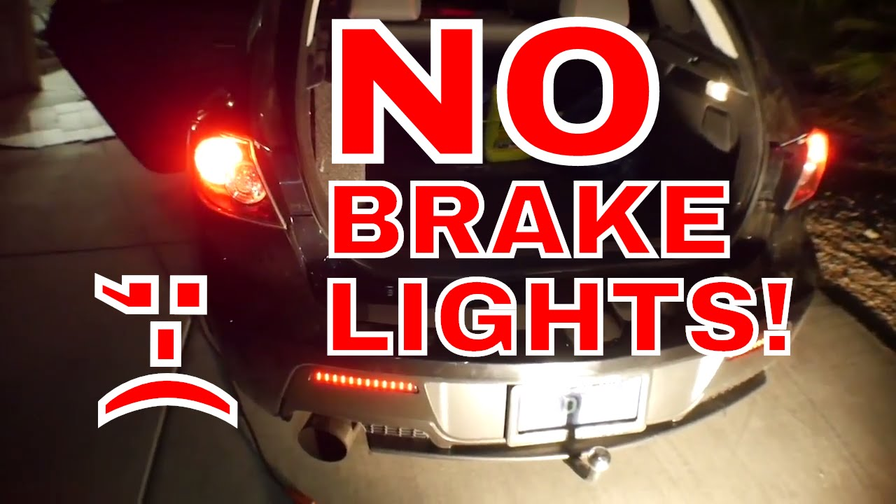 MAZDASPEED 3 BRAKE LIGHTS AND HORN NOT WORKING CEL CODES P0703 / P0571