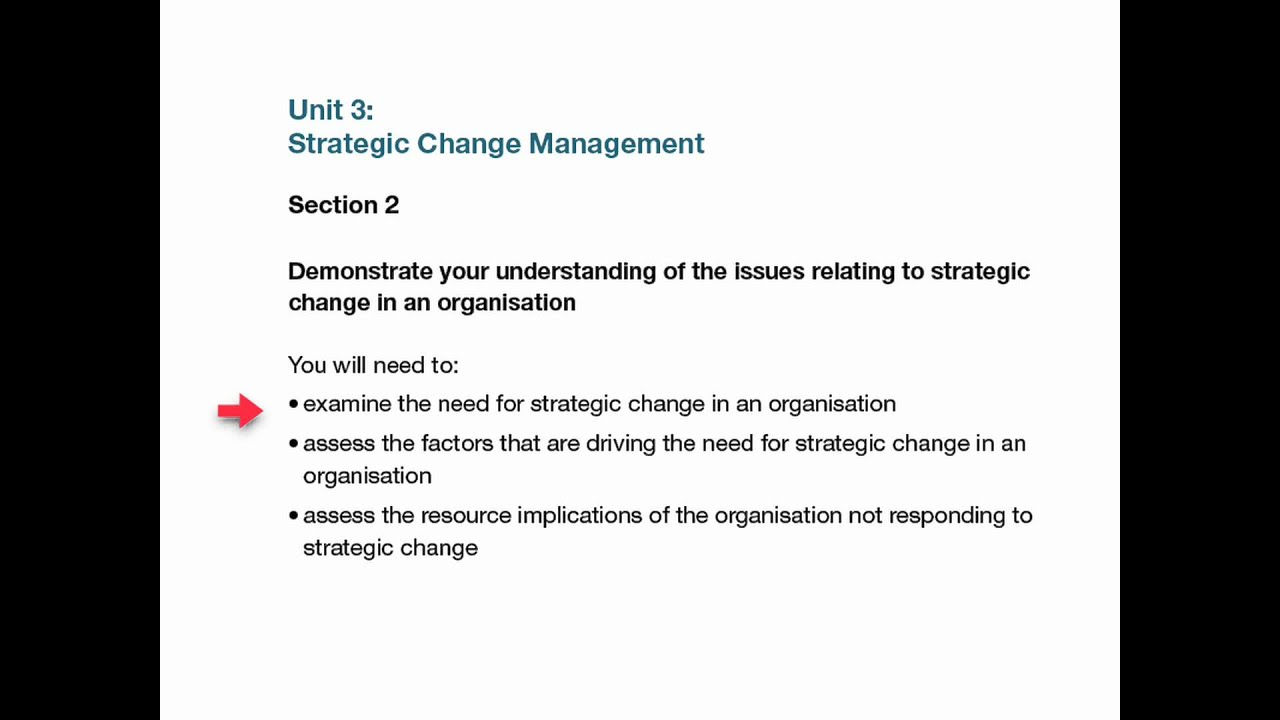 unit change management assignment level  unit 3 change management assignment level 7