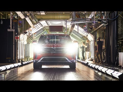 Volkswagen Atlas Cross Sport Production Factory at Chattanooga