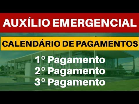 AUXÍLIO EMERGENCIAL  |  CALENDÁRIO E PAGAMENTOS
