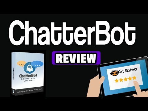 Chatterbot Review Demo - Build Unlimited Messanger Bots