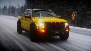 Топ Гир (Top Gear) - Ford F150 vs Chevrolet Silverado (часть 5)
