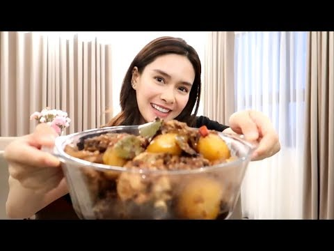 HOME COOKING: MY VERSION OF SPICY CHICKEN ADOBO ♥️   Erich Gonzales