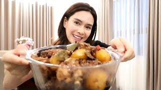 Home Cooking: My Version of Spicy Chicken Adobo ♥️ | Erich Gonzales