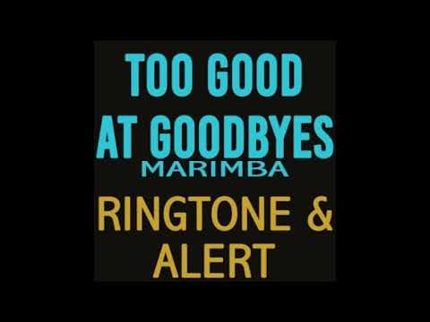 Sam Smith - Too Good at Goodbyes ( Marimba Ringtone )
