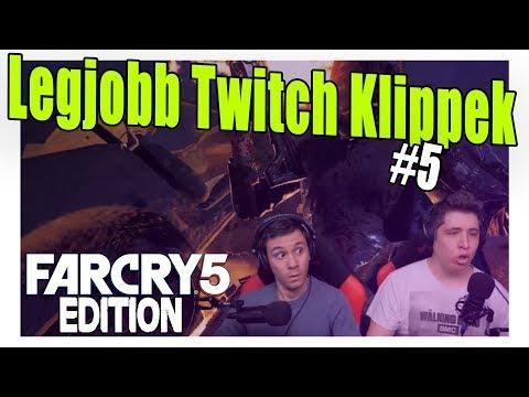 KÉSZ KABARÉ!   Legjobb Twitch Klippek #5 Far Cry 5 Edition thumbnail