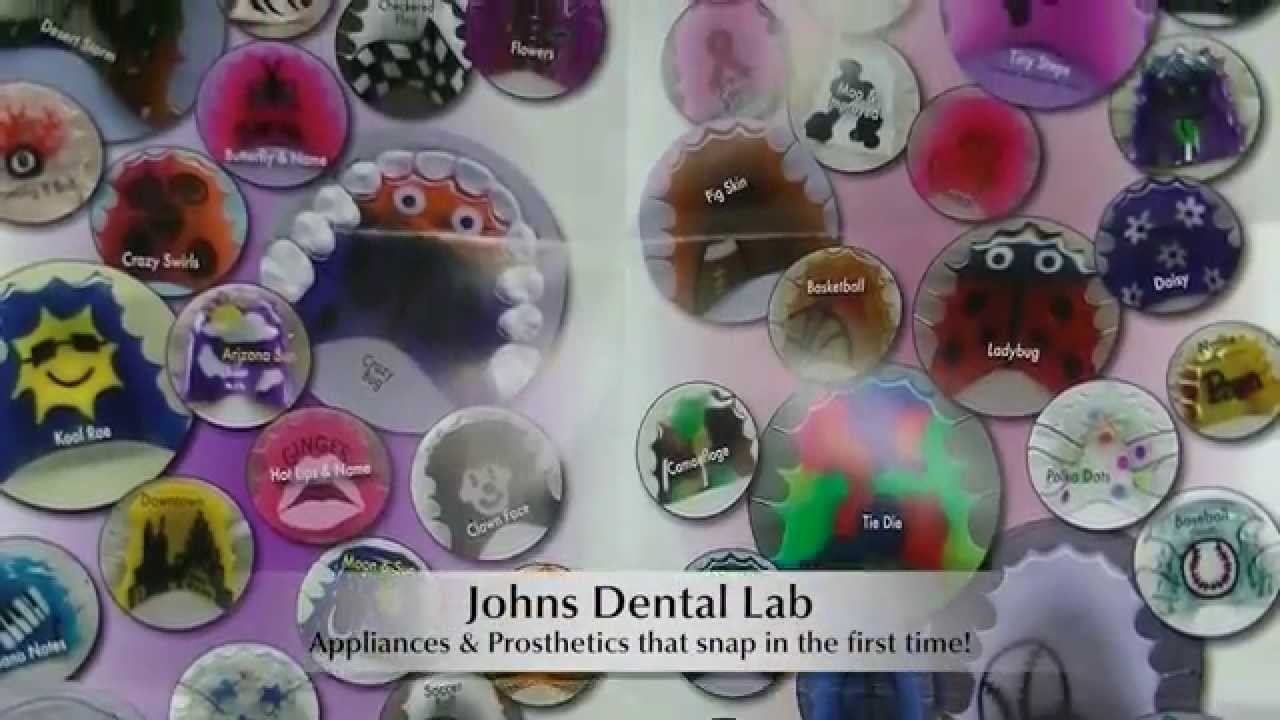 Retainer Designs Johns Dental Lab - YouTube