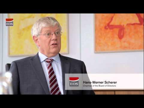 Interview: Hans-Werner Scherer, CEO of EOS