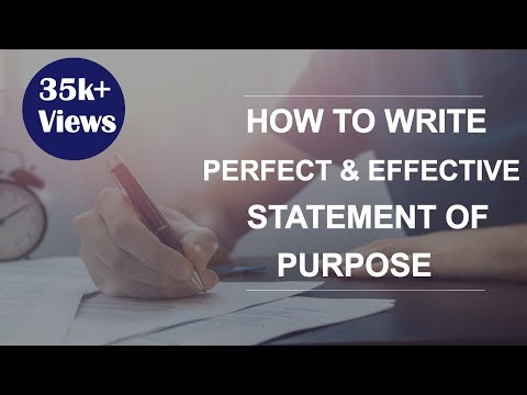 7 Tips to write effective Statement of Purpose (SOP) : USA/ Canada