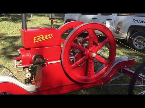 Economy hit and miss gas engine