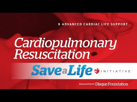 6b. Cardiopulmonary Resuscitation, Advanced Cardiac Life Support (ACLS)