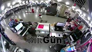 CCTV Footage: Istanbul airport attacker on Cctv