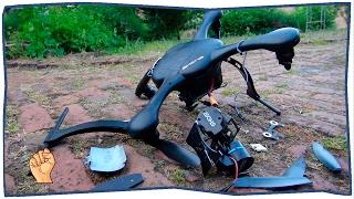 Квадрокоптер (Дрон) - подборка падений | #4