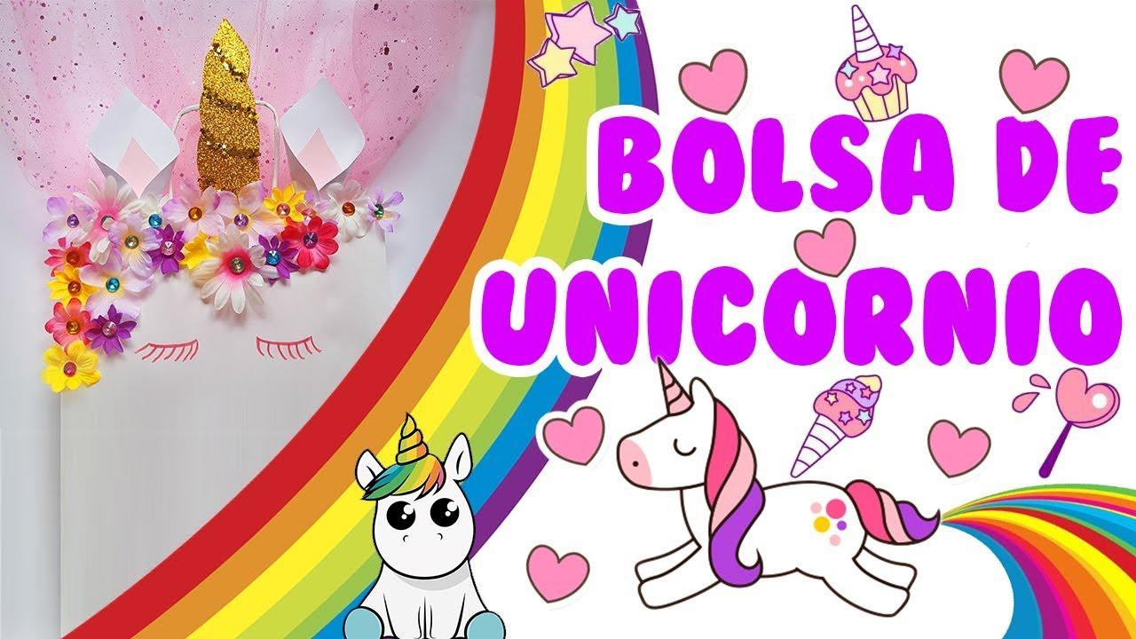 DIY Unicornio bolsa para hacer un regalo de cumpleaños, san valentin, etc Envoltorios
