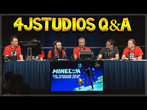 MINECON 2016 - 4jStudios Q&A LIVE Future Title Updates & Features (Console Edition)
