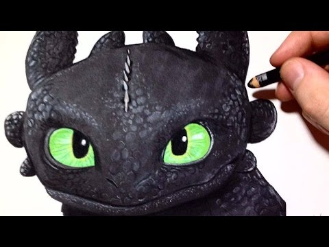 Comment dessiner krokmou dragons tutoriel youtube - Dessiner dragon ...