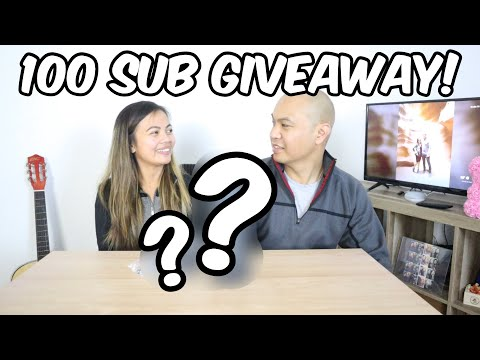 100 SUBSCRIBERS GIVEAWAY!