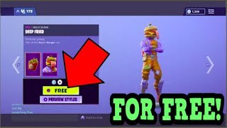 HOW TO GET BEEF BOSS SKIN FOR FREE! (Fortnite Old Skins)