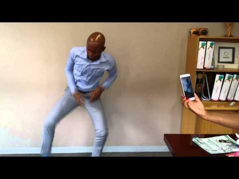 Twerking on We Dance Again Challenge - Black Coffee