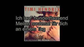 Timi Hendrix - Utopie (Lyrics)