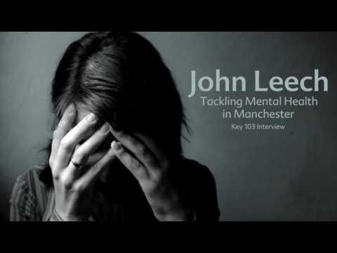John Leech tackling mental health in Manchester: Key 103 interview