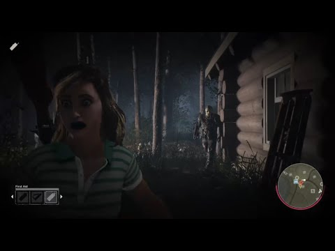 Friday the 13th Game Jenny Myers Gameplay  Fun with  Part VII Jason Voorhees Crystal Lake Small